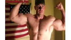 Captain America Bodybuilder